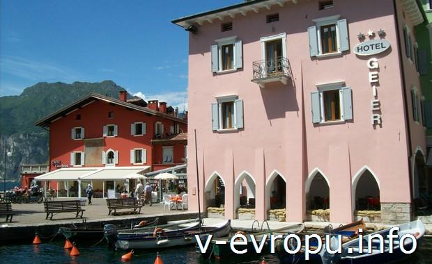 Частный отель в Рива дель Гарда (Верона, Италия)
