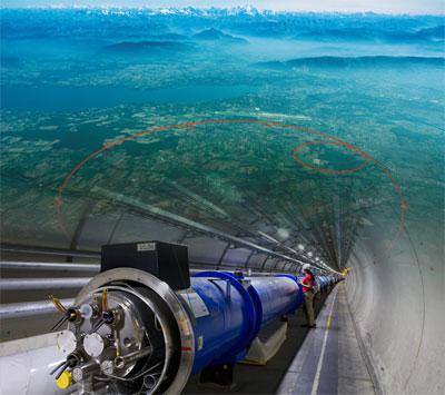 Путешествие в ЦЕРН на Большой Адронный Коллайдер