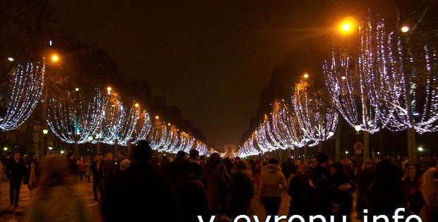 Собираетесь на Новый год в Париж?