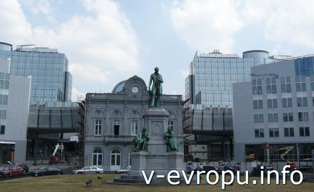 Скоростной поезд Талис из Кельна в Париж проходит через Брюссель