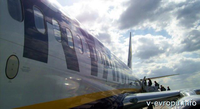 Билеты на самолет европейского лоукостер Райнэйр лучше покупать на сайте авиакомпании