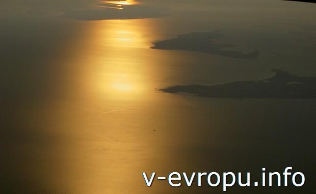 В небе над Балтикой (Рейс Москва-Копенгаген)