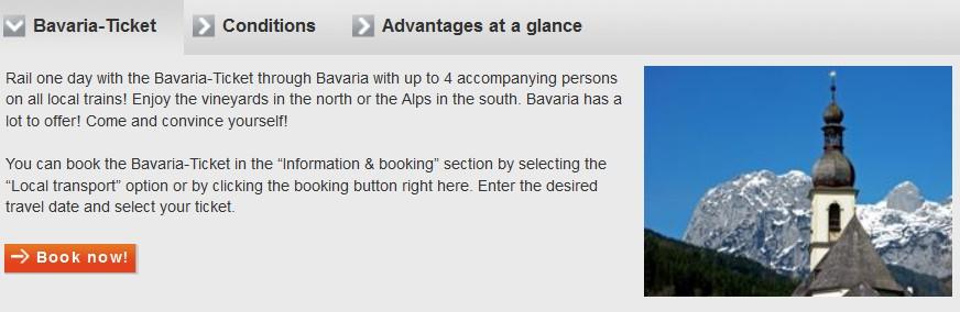 Купить Баварский Билет на сайте ДойчеБан