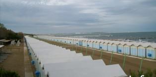 Пляжный отдых на острове Лидо в Венеции