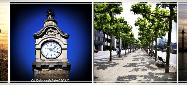 Один день в Дюссельдорфе на Рейне
