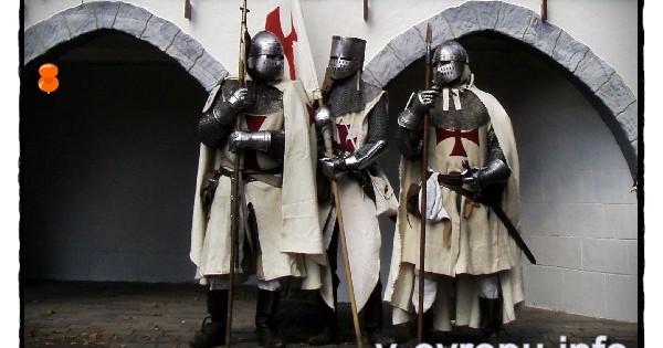 Исторические средневековые праздники в округе Дюссельдорфа осенью и зимой