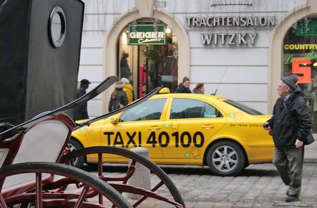 Такси в Вене
