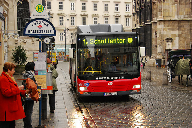 Вена. Автобусы