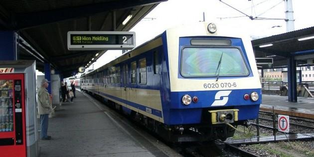 Пригородные поезда Вены