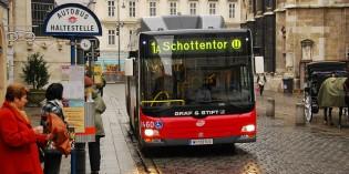 Рейсовые и междугородние автобусы Вены