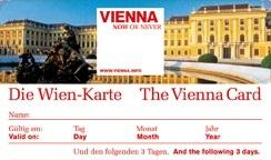 Венский билет (Венская карта) Vienna Card