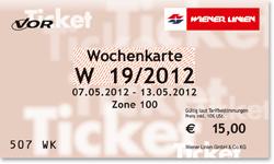 Проездной на 1 неделю в Вене