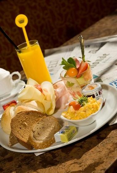 """Вена. Завтрак в кафе """"Централь"""""""