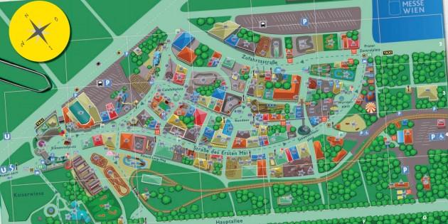 Парк развлечений в Вене Пратер