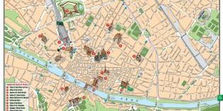 Карта Флоренции