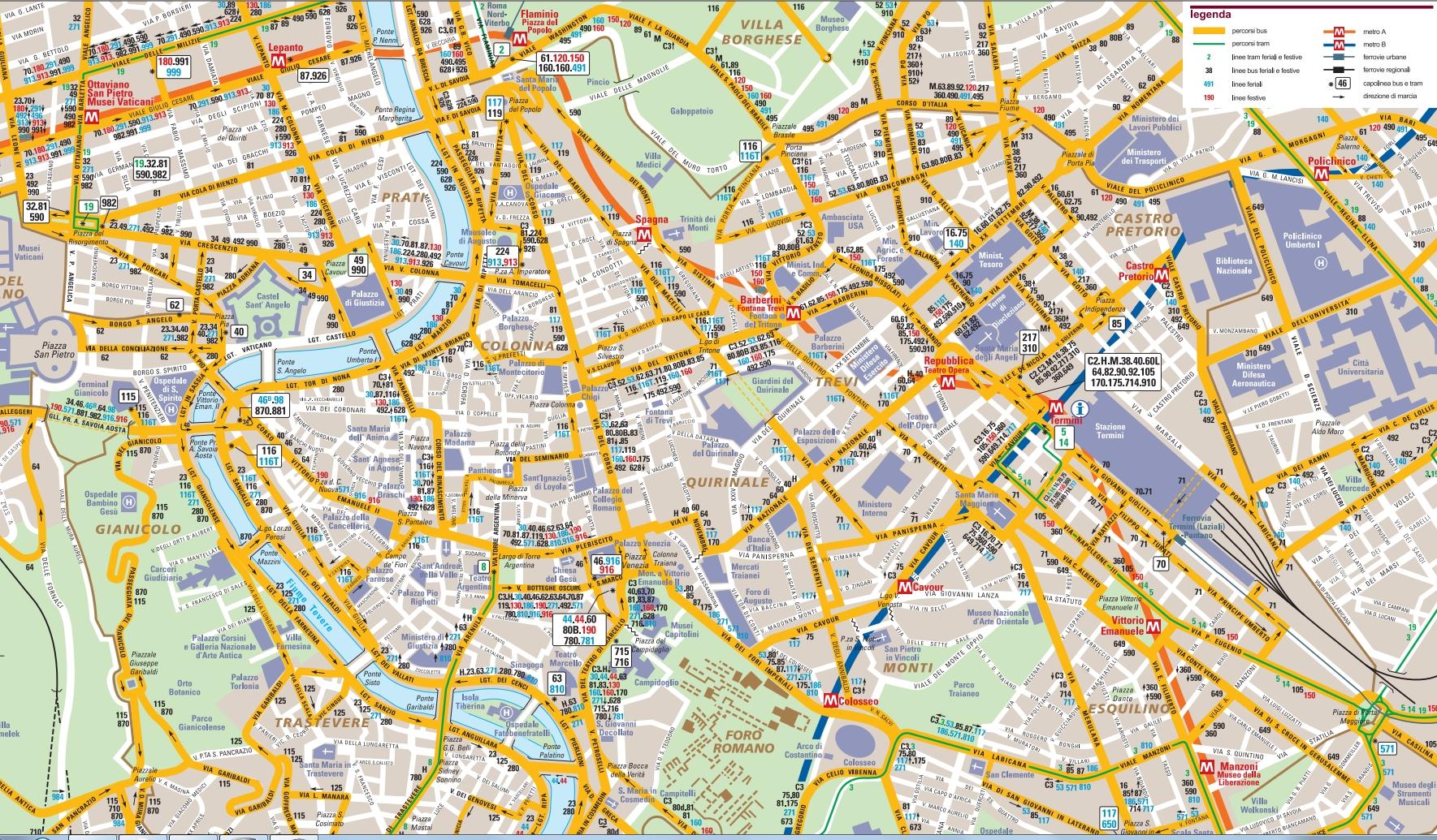 схема автобусного маршрута 906