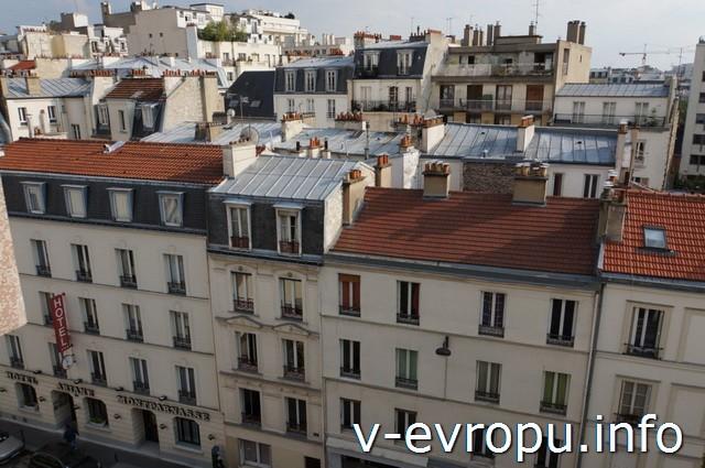 В Париж на День рожденья с Paris Pass. Вид с балкона парижской квартиры