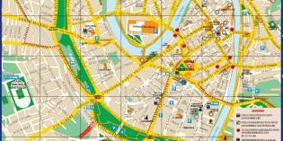 Карта Вероны с достопримечательностями