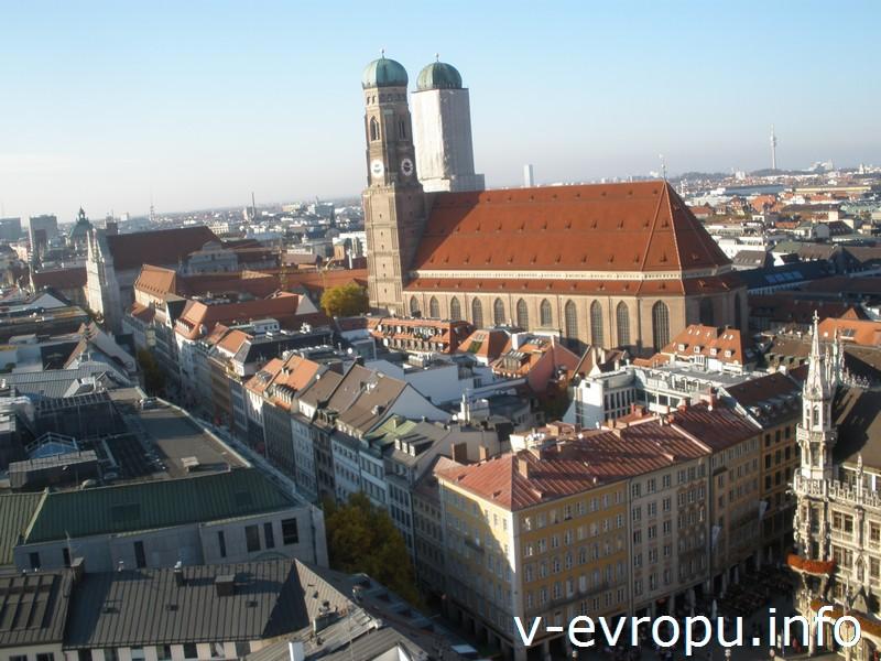 Фрауэнкирхе - символ города Мюнхена