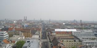 Три обзорные площадки в Мюнхене