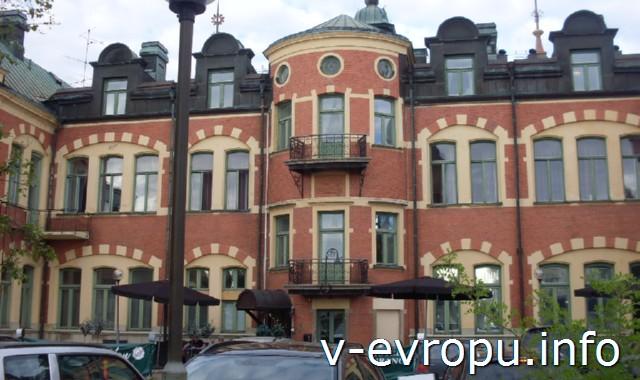 Из Рованиеми в Швецию на велосипеде.Замок в Овер-Хаппаранда.