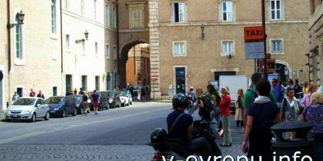Фото Такси в Риме