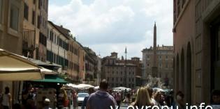 Фото площади Навона в Риме