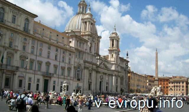 Рим для туристов: самые популярные районы города - пьяцца Навона