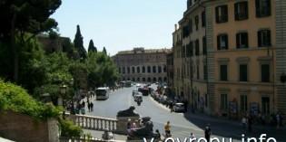 Фото базилика Санта Мария ин Арачели в Риме