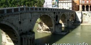 Средневековые и современные мосты  Рима
