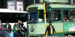 Фото трамваев Рима