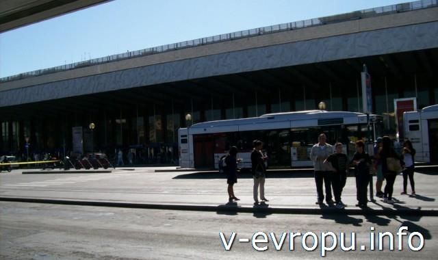 Рим. Жд вокзал Термини. Фото. Главный вход