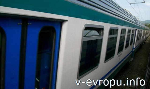Транспорт Рима. Фото. Пригородные поезда
