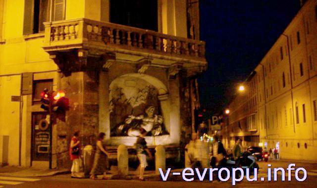 Рим для путешествий: правила самостоятельного туриста. Фото. Ночной Рим. Площадь 4-х Фонтанов