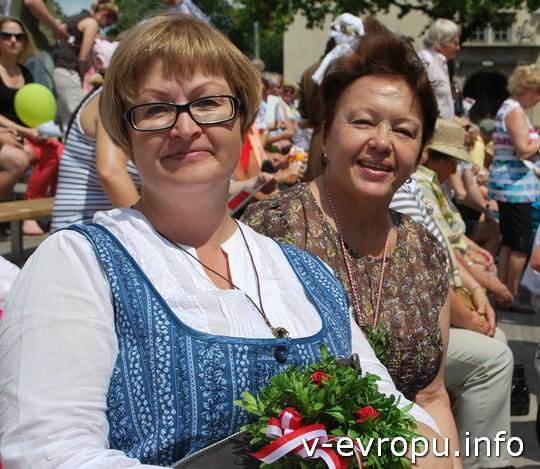 Живая встреча в Мюнхене: Ольга и Нина из Санкт-Петербурга