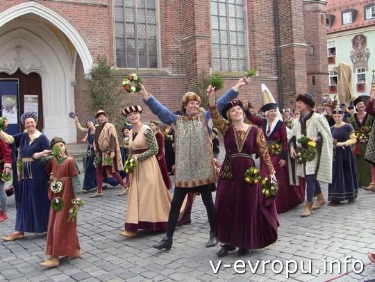 Свадьба в Ландсхуте: шествие послов и гостей