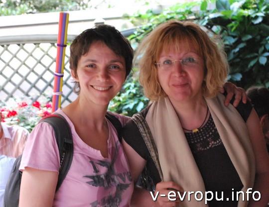 Живая встреча в Мюнхене: я с градоведом Татьяной Щён