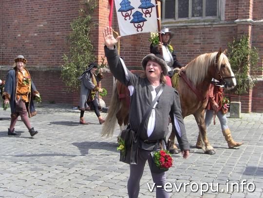 Свадьба в Ландсхуте: герб Лансхута - 3 шляпы