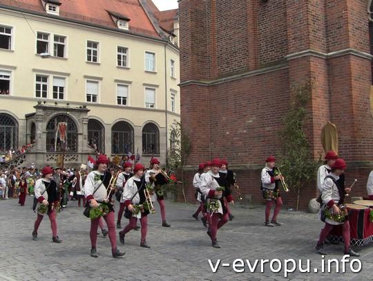 Свадьба в Ландсхуте: духовой оркестр города
