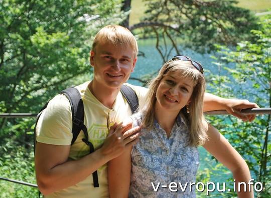 Живая встреча в Мюнхене: Павел и Таня из Киева, мы познакомились в Париже на 2 живой встрече