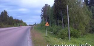 Велосипедная дорога в Швеции Хапаранда – Лулео