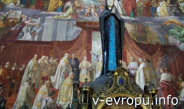 Зал дель Иммаколата Консеционе в Ватиканских Музеях