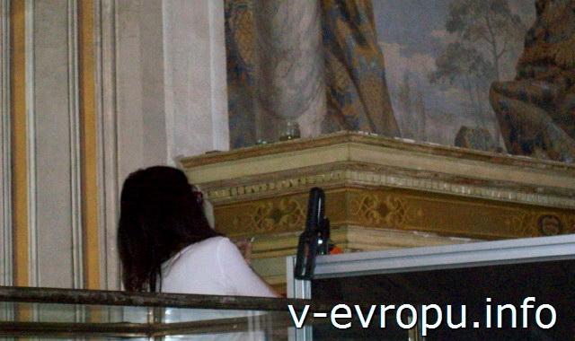 Реставрационные работы в Музее Ватикана