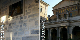 История и легенды церкви Санта Мария ин Трастевере в Риме