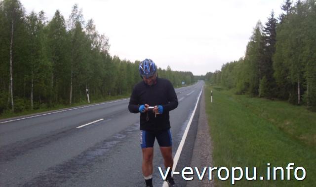 На велосипеде от Соданкюля до Рованиеми. Поляк Ярик