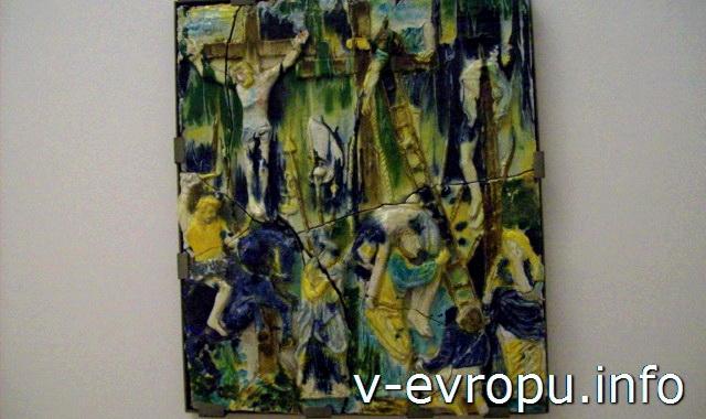 """Зал Матисса в Ватикане. Алик Кавалиере """"Диспозиционе"""". 1950г"""