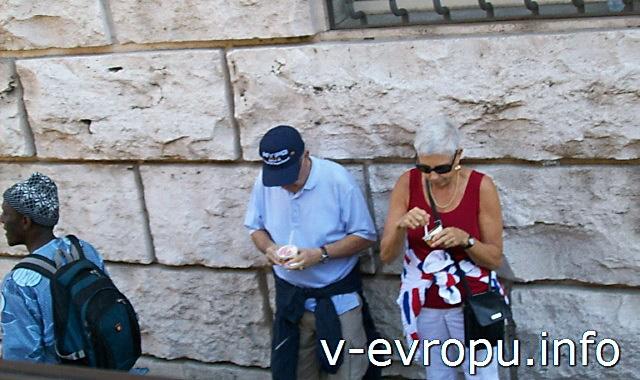 Цены на еду в Риме. Мороженое за 2,5 евро