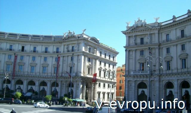 Рим для туристов: самые популярные районы города. Фото. Пьяцца дель Квиринале
