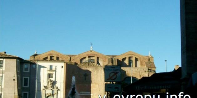Площадь Республики в Риме