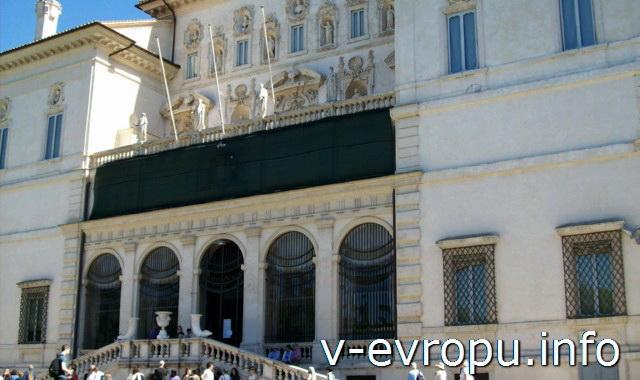 Галерея (музей) Боргезе на Вилле Боргезе. Рим